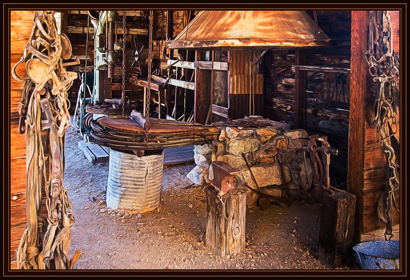 Blacksmith, Furrier Workshop