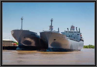 MV Cape Kennedy and Cape Knox