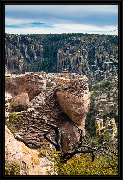 Chiricahua National Monument - Massai Point Trailhead - Overlook