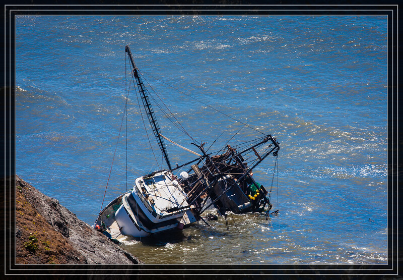 Cape Blanco State Park - Fishing Boat in Trouble