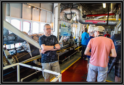 Steamboat Natchez Engine Room