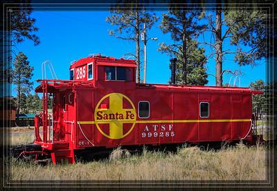 Santa Fe Caboose