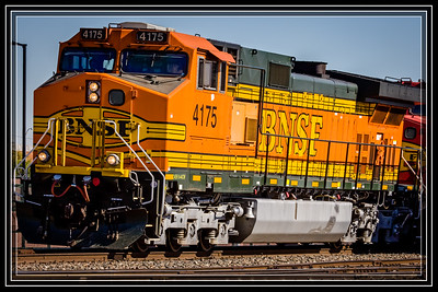 BNSF Locomotive Colors are so Great     Link to Photo Without Frame