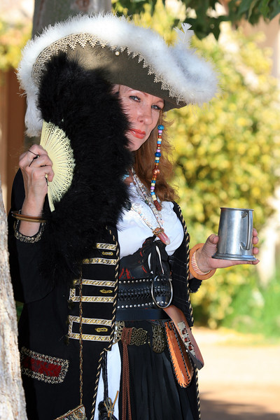 Arizona Renaissance Festival<br /> <br /> She is Wearing one of the Two Costumes that She Made...
