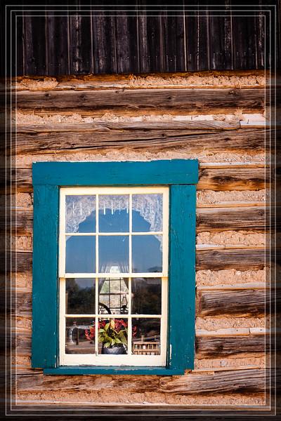 Window in Teal