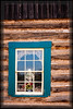 Window in Teal