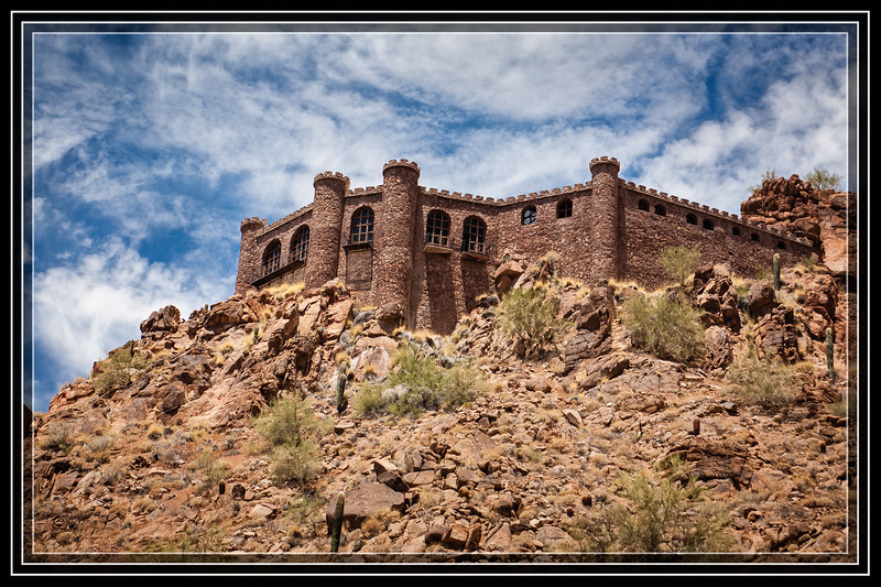 "King of the Hill - King of the Castle? (Shot in Phoenix, AZ)     </font><font color=""PaleGreen"">Thank You for Making this Daily Photo the <font color=""Yellow"">#1 Pick<font color=""PaleGreen""> on 06-02-2013 </a></font>  </font><font color=""Yellow"">Advantages of Living on a Hill in a Castle: 1.  No one blocks your view 2.  No Lawn to Mow 3.  Flood Insurance costs less 4.  Everyone Looks Up to You 5.  Don't need a Mote 6.  Archers stationed at the Battlements keep unwanted solicitors/visitors/relatives/etc at a distance...  Can you think of anymore???</a></font>  </font> <a href=""http://www.rickwillis-photos.com/Portfolio/Best/Hidden-Photos-Without-Frames/26709550_DZD78d#!i=2546923858&k=bmMmxNr""> <font color=""Red"">Link to Photo Without Frame</a> </font></a></font>"