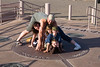 AZ-Four Corners Monument<br /> <br /> A Family posing for the part of me in a different state photo...