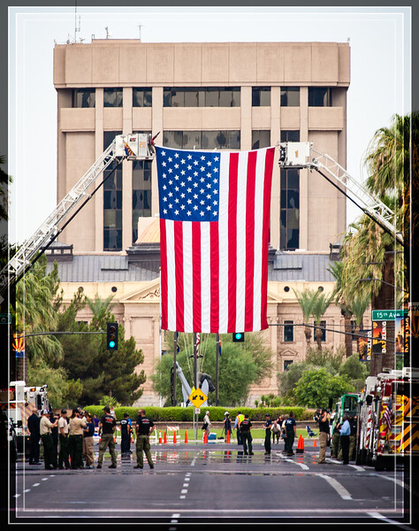 Nineteen Prescott, AZ Firefighters Returned