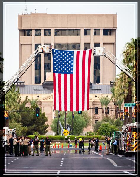 Nineteen Prescott, AZ Firefighters Returned
