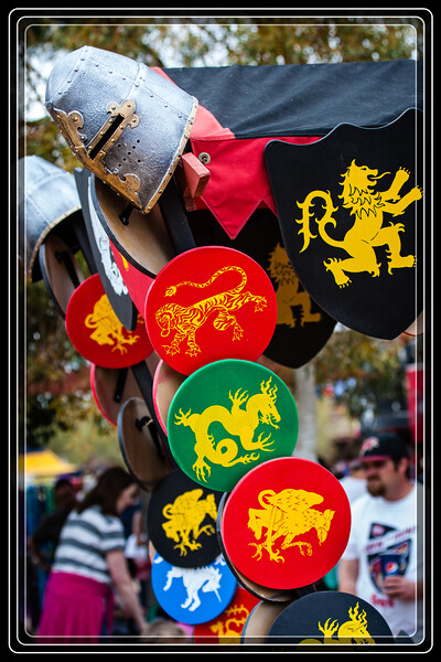 All the unusual shapes and colors make the Renaissance Festival a great place for photographers to explore...     Link to Photo Without Frame