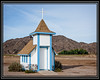 A recent vist and some research explains why the Chapel was missing a year ago... Yuma, AZ - Small Chapel Rebuilt after    Storm Damage      Link to Photo Without Frame