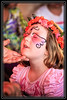 Eye Makeup for the Young Lady at the Arizona Renaissance Festival...     Link to Photo Without Frame