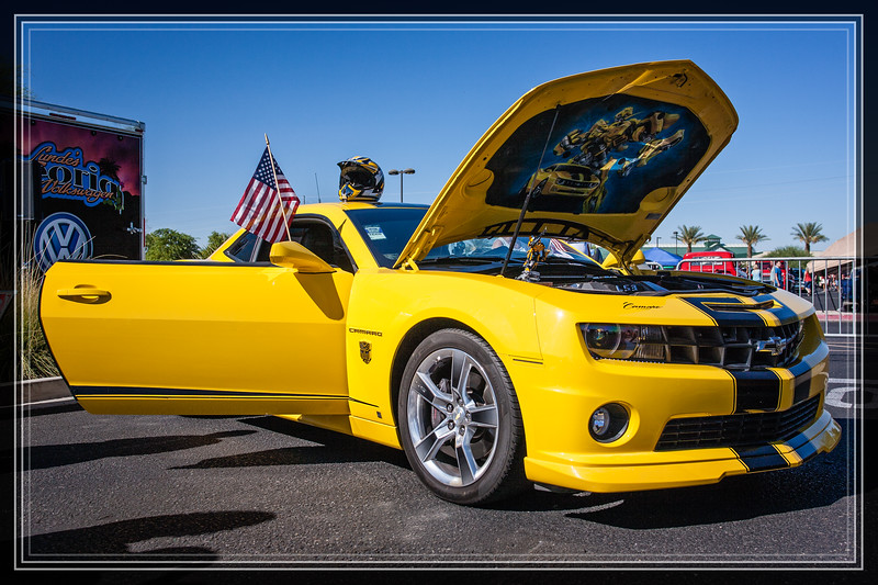 """Throttlebot Camaro  <a href=""""http://www.rickwillis-photos.com/Events/Car-Vehicle-Shows/i-d99X2Bv"""">Link to Photo Without Frame</a>  Thank You for Making this Daily Photo the #2 Pick on 01-03-2014"""