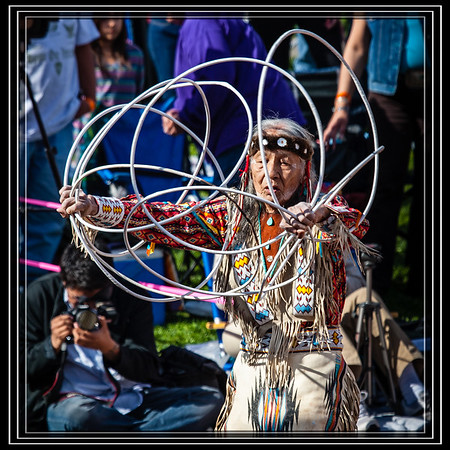 Jones Benally has been a hoop dancer for more than 75 years and was presented with the Inaugural Heard Museum Hoop Dance Legacy Award     Other Jones Benally Images on the WEB       Link to Photo Without Frame