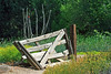 Gate<br /> <br /> Has no purpose as the fence no longer exists...