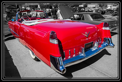 1956 Red Cadillac Still Looking Good         Red Cadillac Music?        Thank You for Making this Daily Photo the #1 Pick on 04/10/2013     Link to Photo Without Frame