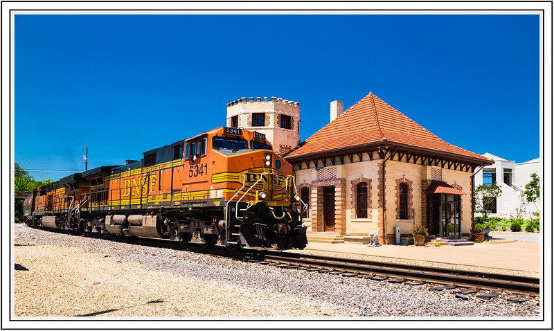 "Alphabet Challenge – ""W"" is for Waxahachie Depot in Waxahachie, Texas"