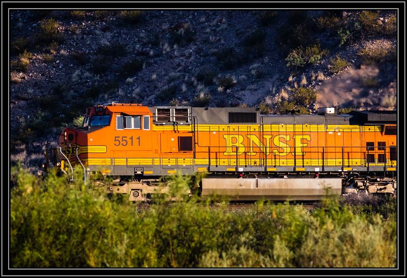 BNSF Locomotive 5511