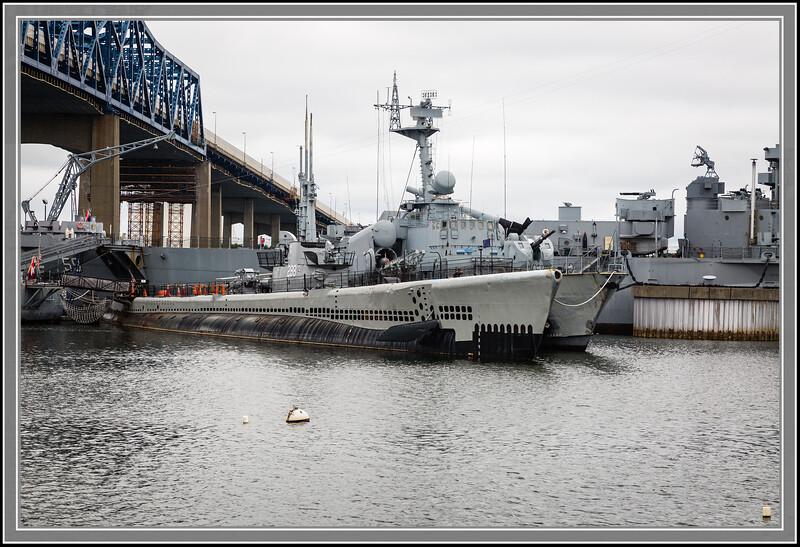 Submarine USS Lionfish (SS-298)