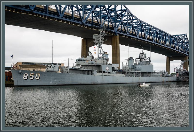 Destroyer - USS Joseph P. Kennedy Jr. (DD-850)