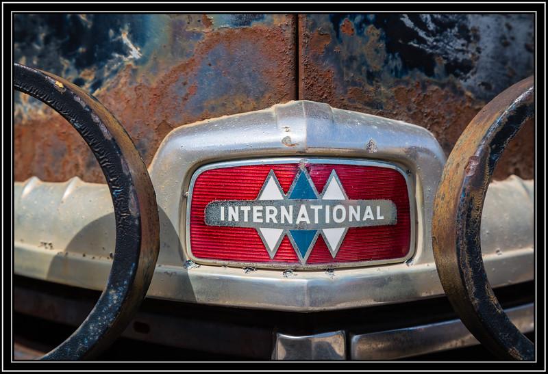 International Truck Badge