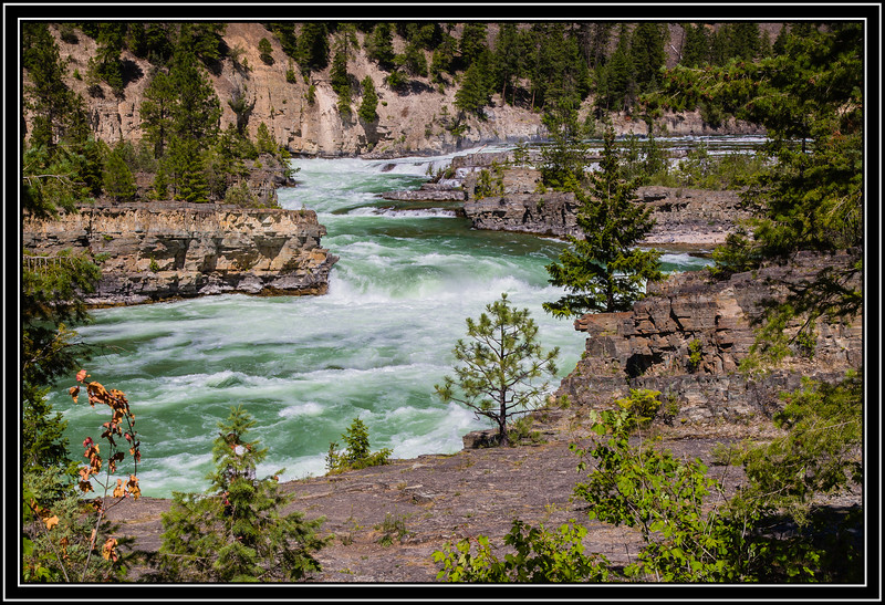 Kootenai Falls and Swinging Bridge Area