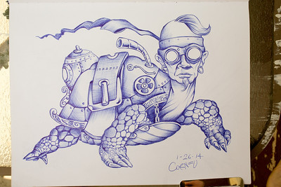 "26/365 - ""steampunk turtle"""