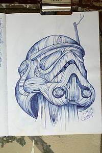 "14/365 - ""wood trooper"""