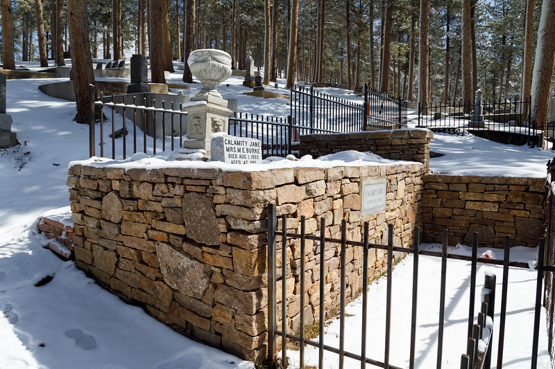 Calamity Jane grave, Deadwood, South Dakota