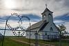 Lutheran church near Capitol, Montana