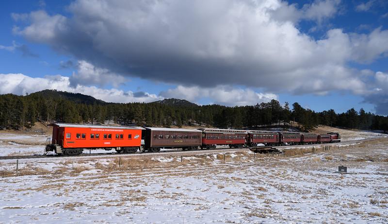 Holiday Express, 1880 Train