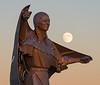 Dignity Sculpture near Chamberlain, South Dakota
