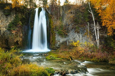Autumn at Spearfish Falls