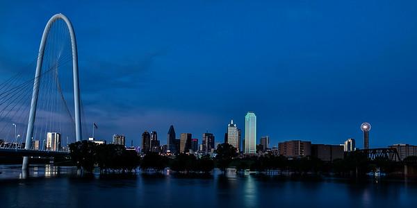 Dallas Skyline 6-27-2015
