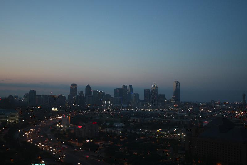 Dallas waking up.