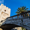 Kopnena Vrata - the land gate into Korcula old town