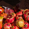 Pomegranates piled up