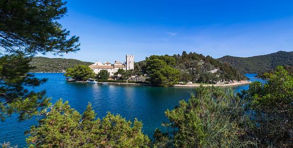 Monastery of Saint Mary situated on St Marys Island