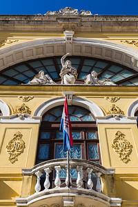 Exterior of the Croatian National Theatre in Split