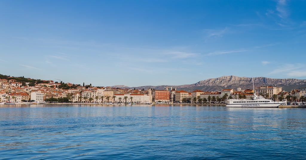 Riva panorama in Split
