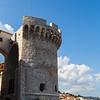 Blue sky behind Tower Kanavelic
