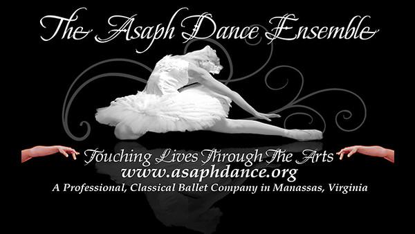The Asaph Dance Ensemble, a classical, professional ballet company in Manassas, VA