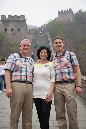 1405-44 0235  1405-44 BLR China and Hong Kong Tour BYU BDC Ballroom Dance Company Directors:  Lee and Linda Wakefield April 28 - May 19, 2014  The Great Wall of China (4 hour bus ride) Beijing, China  May 01, 2014  Photo by:  Todd Wakefield/BYU  Copyright BYU Photo 2013 All Rights Reserved photo@byu.edu  (801)422-7322