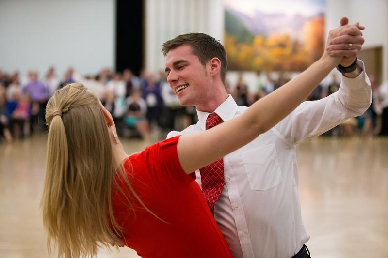 BYU Ballroom Dance Company -  Dance Lab -  February 4, 2015 -  Photo by  Savanna Sorensen -