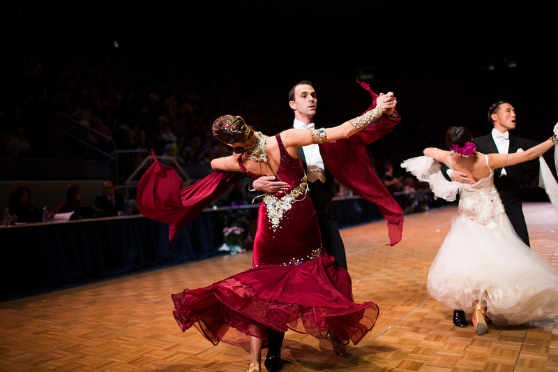 1403-21 0147  1403-21 BLR DanceSport Championships  United States National Amateur DanceSport Championships  Marriott Center, Saturday  Organized by Lee Wakefield and Curt Holman Sanctioned by the NDCA  March 16, 2014  Todd Wakefield/BYU  © BYU PHOTO 2014 All Rights Reserved photo@byu.edu   (801)422-7322