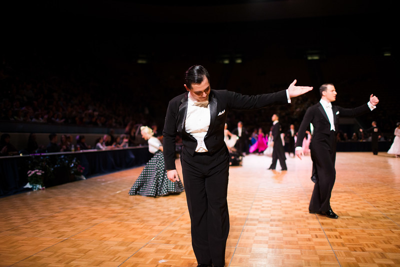 1403-21 0146  1403-21 BLR DanceSport Championships  United States National Amateur DanceSport Championships  Marriott Center, Saturday  Organized by Lee Wakefield and Curt Holman Sanctioned by the NDCA  March 16, 2014  Todd Wakefield/BYU  © BYU PHOTO 2014 All Rights Reserved photo@byu.edu   (801)422-7322