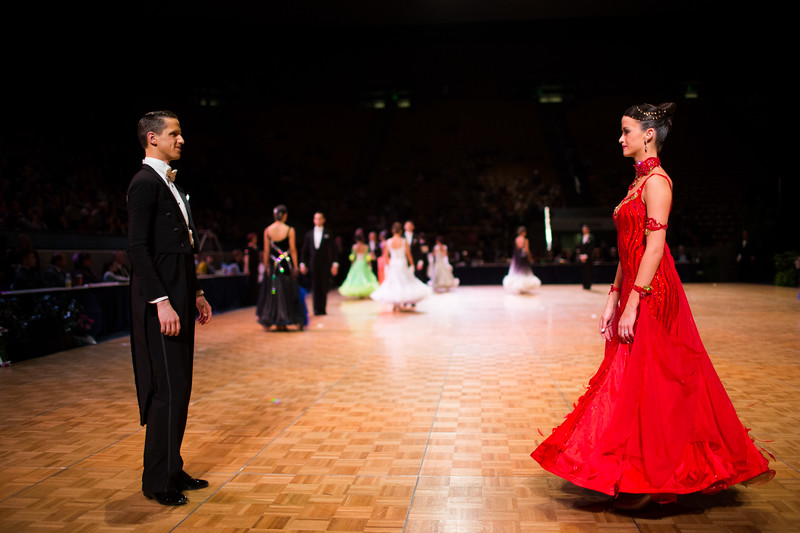 1403-21 0152  1403-21 BLR DanceSport Championships  United States National Amateur DanceSport Championships  Marriott Center, Saturday  Organized by Lee Wakefield and Curt Holman Sanctioned by the NDCA  March 16, 2014  Todd Wakefield/BYU  © BYU PHOTO 2014 All Rights Reserved photo@byu.edu   (801)422-7322