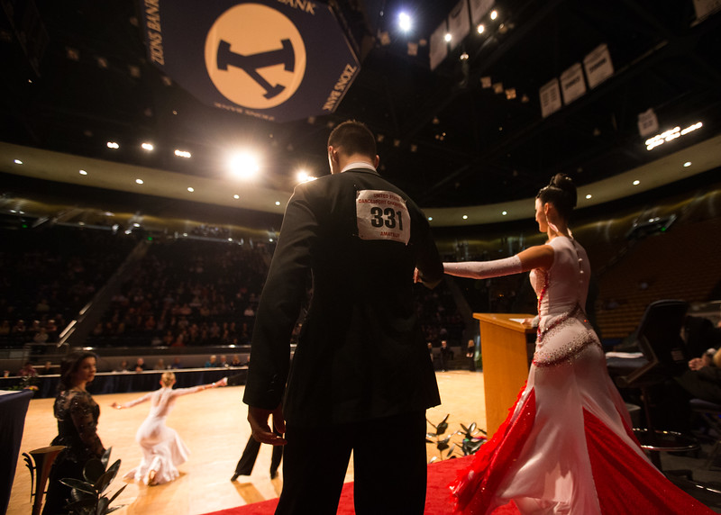 1503-39 0239  1503-39 BLR DanceSport Championships  United States National Amateur DanceSport Championships.  Ballroom Dance Company.  Sanctioned by the NDCA  Organizers:  Lee Wakefield and Curt Holman  Photo by:  Todd Wakefield  Thursday - March 12, 2015  © BYU PHOTO 2015 All Rights Reserved photo@byu.edu  (801)422-7322
