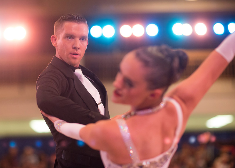 1411-41 0188  1411-41 BLR Dancesport  November ballroom dance competition held in the Wilkinson's Center at BYU.  Organized by Lee Wakefield and Curt Holman, sanctioned by the NDCA.  Friday  Photo by:  Todd Wakefield/BYU  November 14, 2014  Copyright BYU Photo 2014 All Rights Reserved photo@byu.edu   (801)422-7322